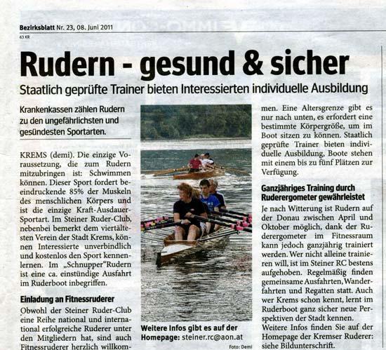 Bezirksblatt 8.6.2011