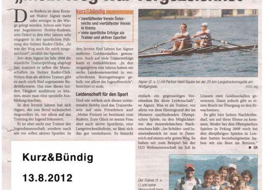 kurz&bündig 120812