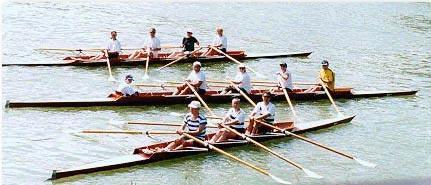 Breitensport in Mannschaftsbooten
