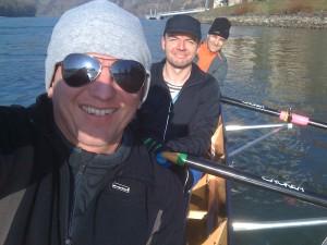 Christian, Harald & Harald, Wintersternfahrt 2013