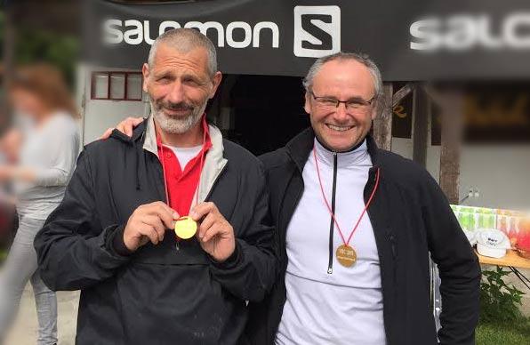 Heinrich und Walter ausgezeichnet bei den Argonauten 2015