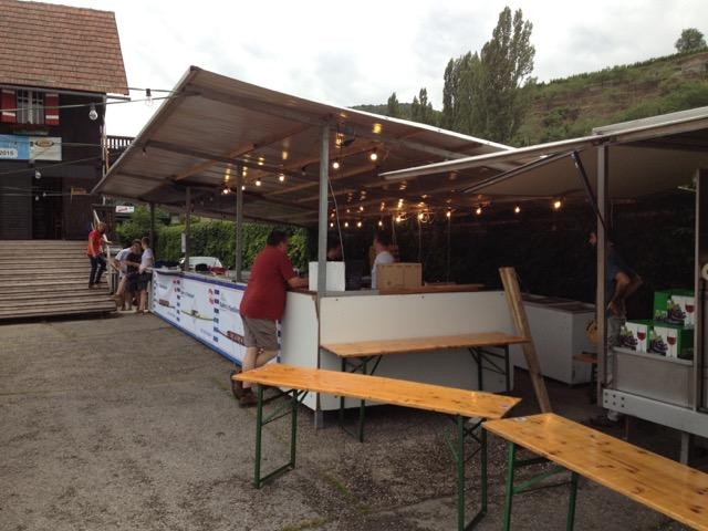 Küchenzeile Sommerfest 2015
