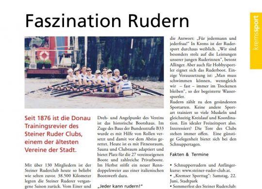 Kremser Stadtjournal - Ausgabe April 2019